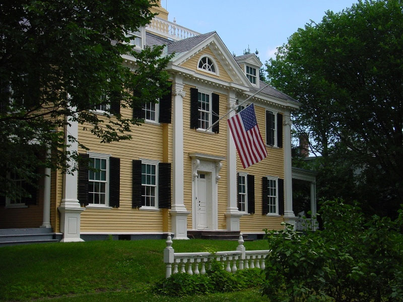 Longfellow House and Garden, USA