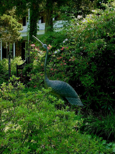 Sculpture, Long Hill Garden