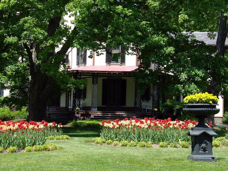 locust grove spring garden design usa - Garden Design Usa