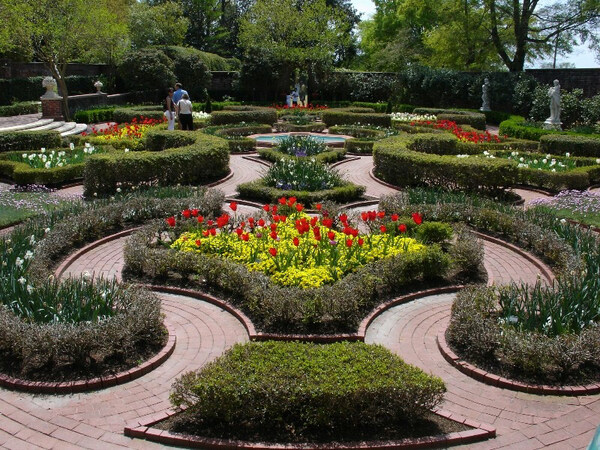 Tryon Palace Gardens, North Carolina