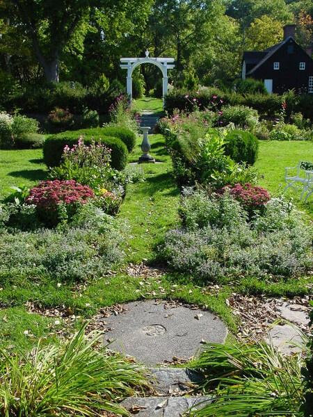 Hamilton House and Garden, South Berwick