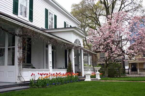 Eldon House Garden, Canada
