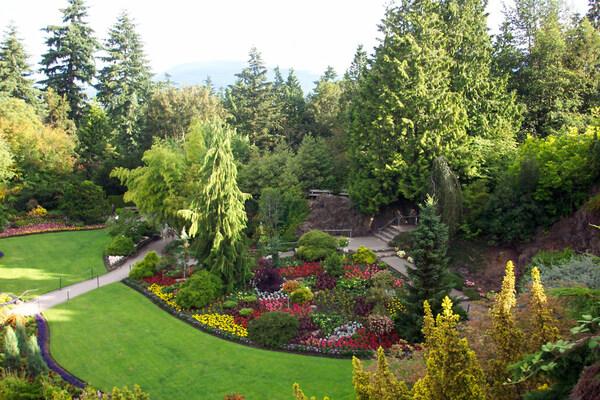 Queen Elizabeth Quarry Gardens, British Columbia