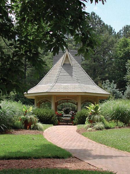 Summerhouse, Huntsville Botanical Garden