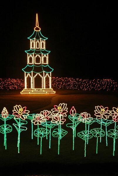Christmas Lights, Bellingrath Gardens
