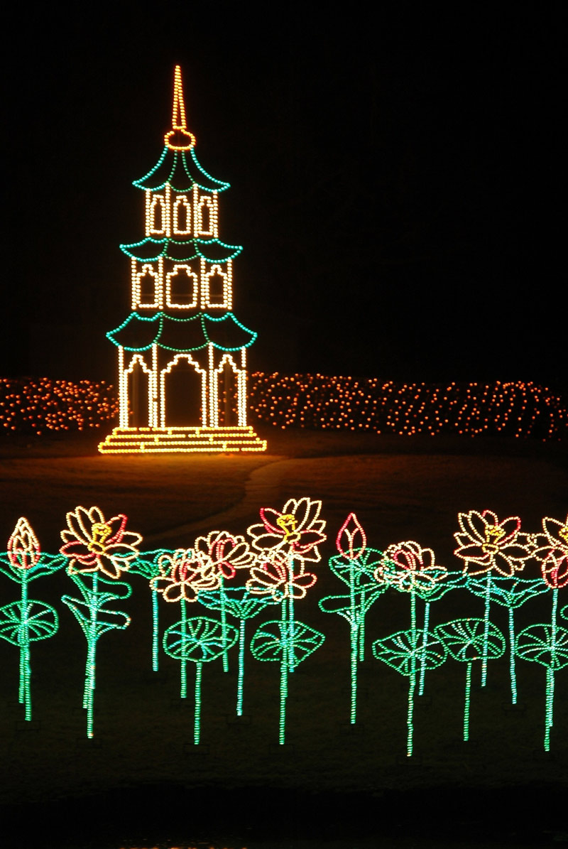 Christmas Lights, Bellingrath Gardens
