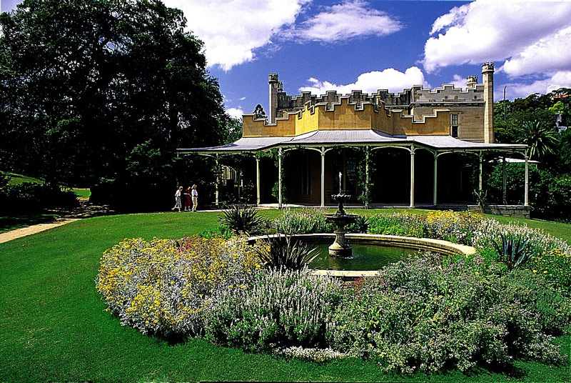 Vaucluse House Garden, NSW