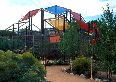 Butterfly Pavilion, Rio Grande Botanic Garden
