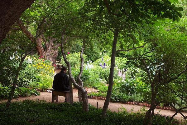 The Garden at El Zaguan, Santa Fe