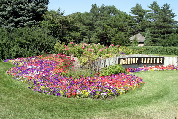 Corner Garden, McCrory Gardens