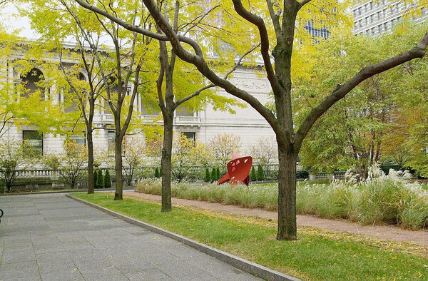 North Garden - Art Institute Gardens, Chicago