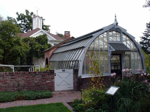 Greenhouse, Luther Burbank Home and Gardens