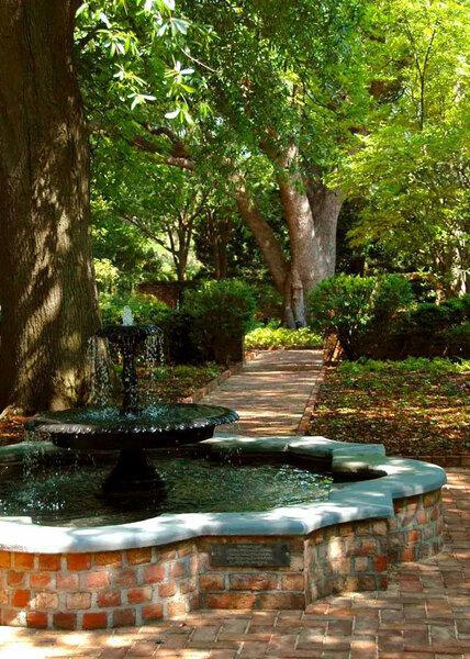 Caldwell-Boylston Garden, SC Governor's Mansion