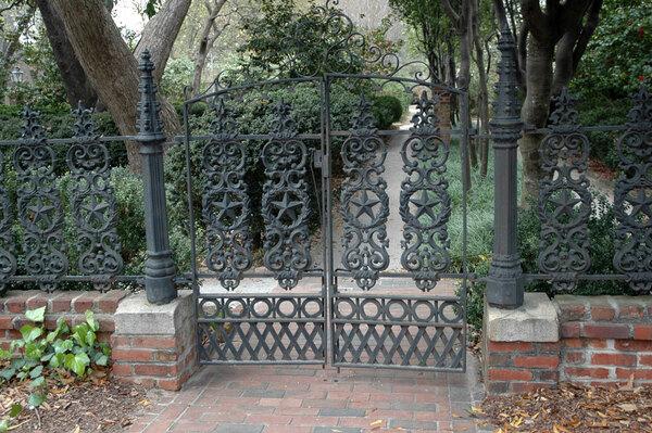 Gate, Caldwell-Boylston Garden