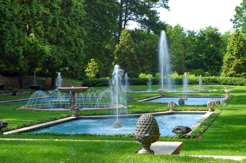 Fountains, Longwood Gardens