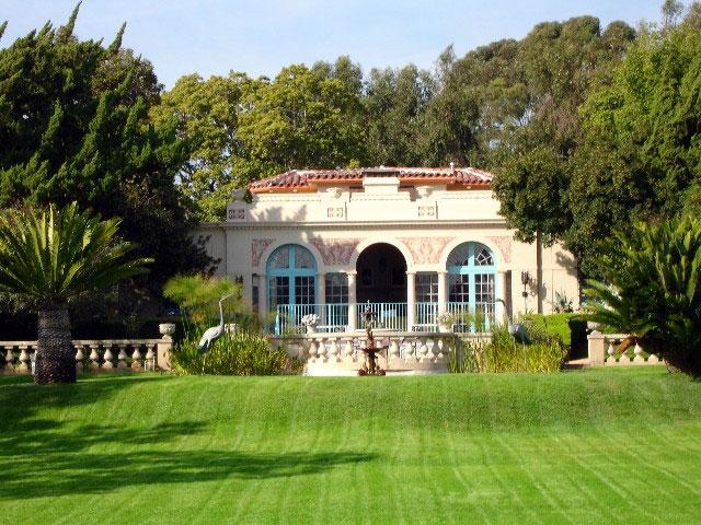 Virginia robinson gardens - Beverly hills public swimming pool ...