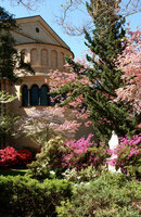 Medium franciscan monastery garden original