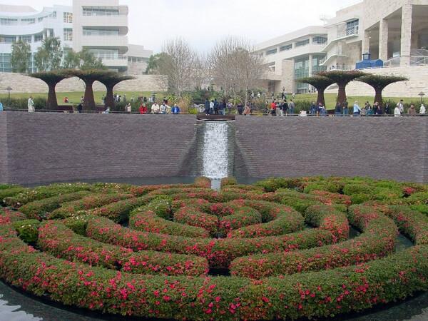 Getty Center Garden, California