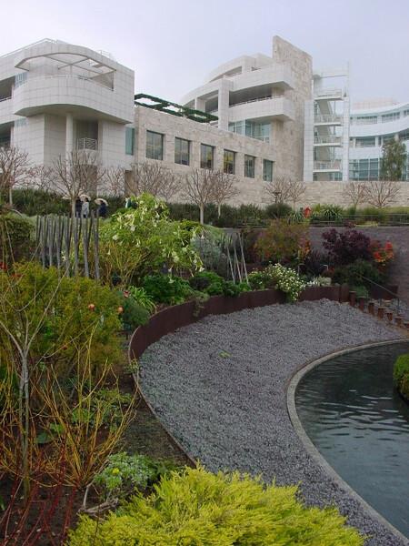 Getty Center Garden, Los Angeles