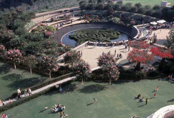 Getty Center Garden, Robert Irwin