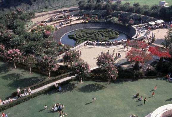 Getty Center Garden, Robert Irwin