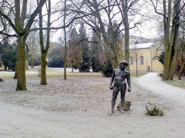 Statue, Regensburg Stadtpark
