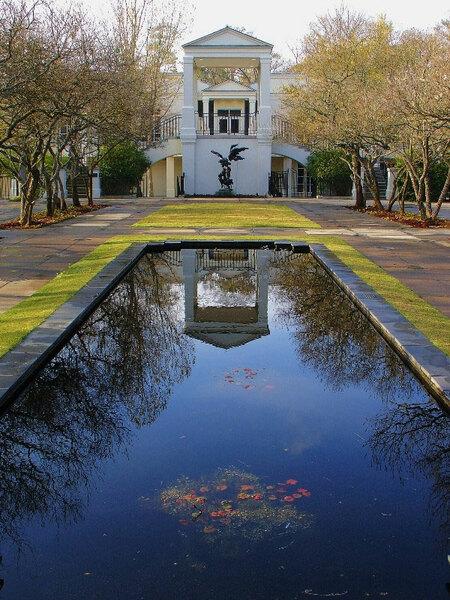 Pool, Birmingham Botanical Gardens