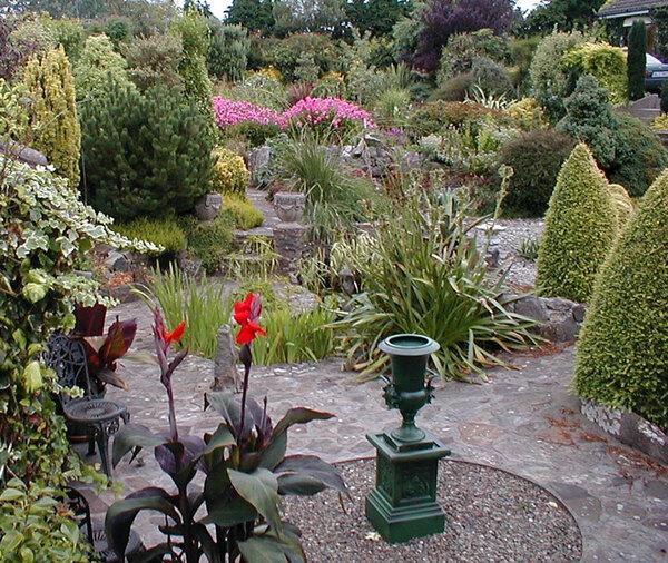 Patio, Boyce's Garden