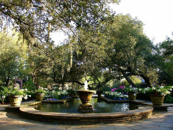 Pool, Bellingrath Gardens