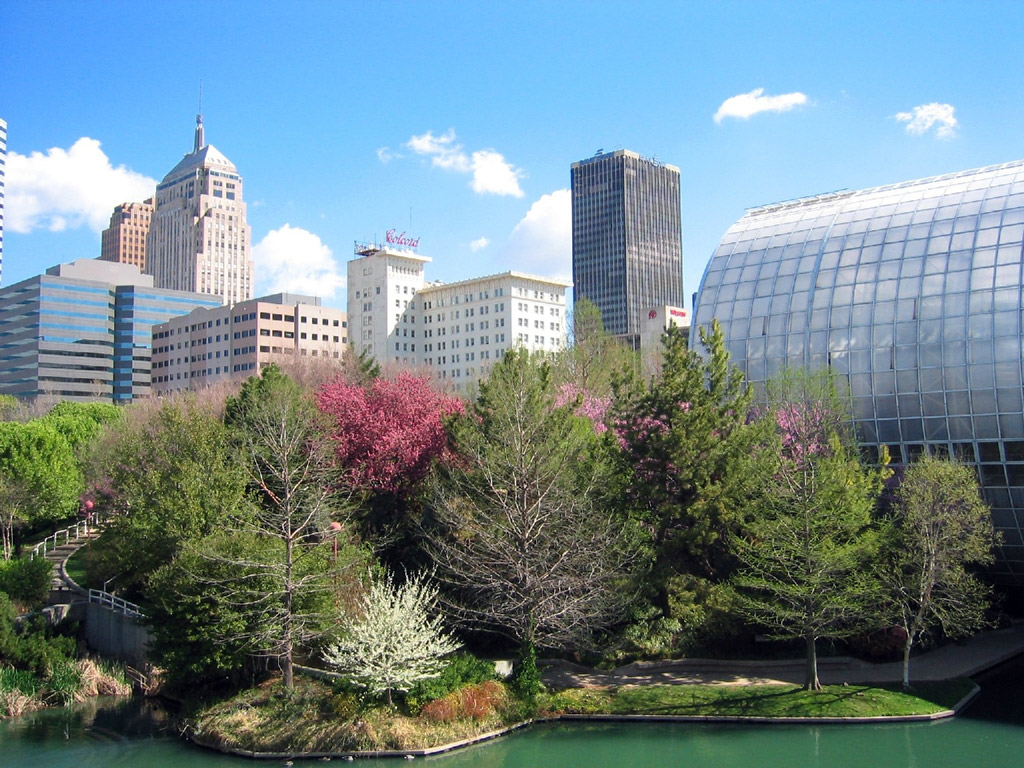 Plaza View, Myriad Botanical Gardens