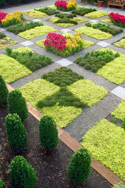 Quilt Garden, North Carolina Arboretum