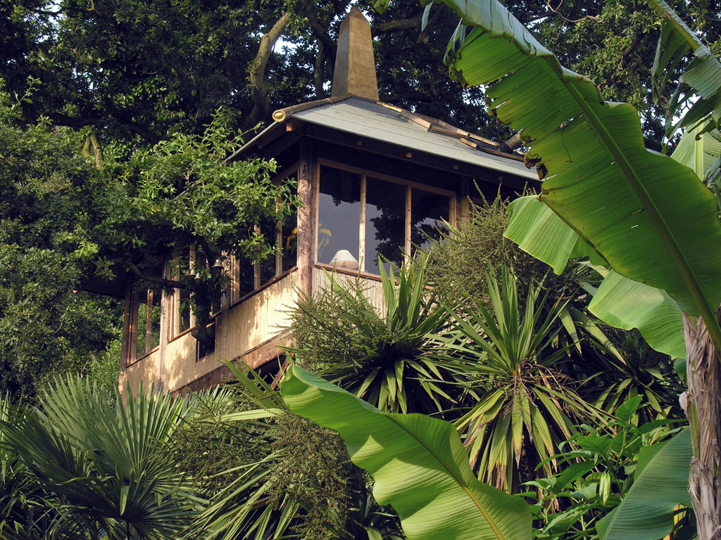 Treehouse, The Exotic Garden