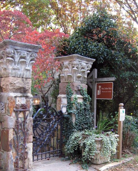 Gate, MacCallum More Museum & Gardens