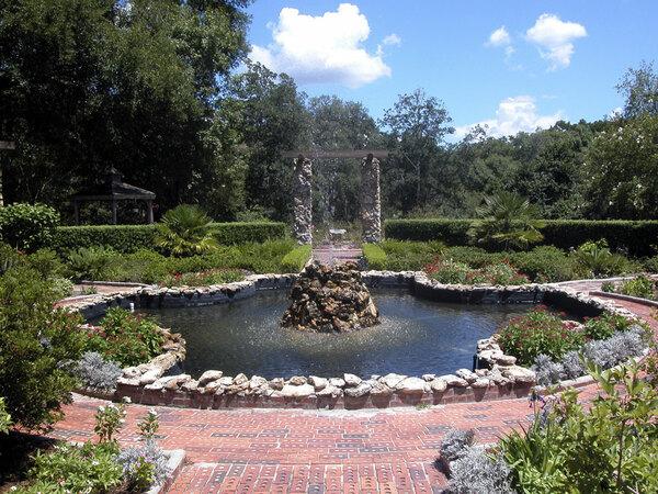 Fountain, Ravine Gardens State Park