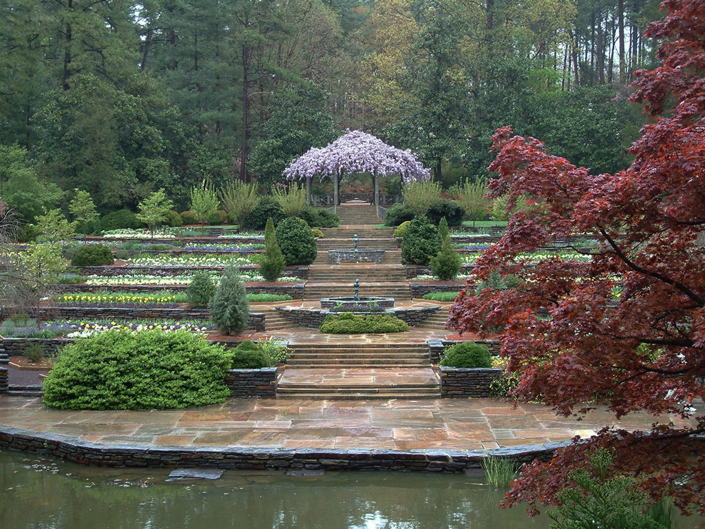 Sarah p duke gardens for Terraces opening times