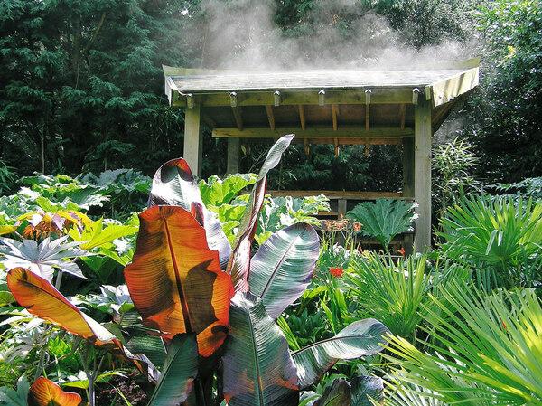 Pavilion, Henstead Exotic Garden