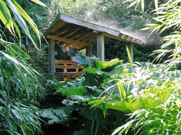 Thai Style Pavilion, Henstead Exotic Garden