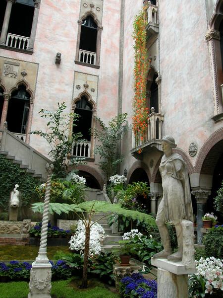 Isabella Stewart Gardner Museum Garden, Massachusetts