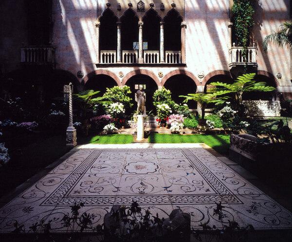 Isabella Stewart Gardner Museum Garden, MA