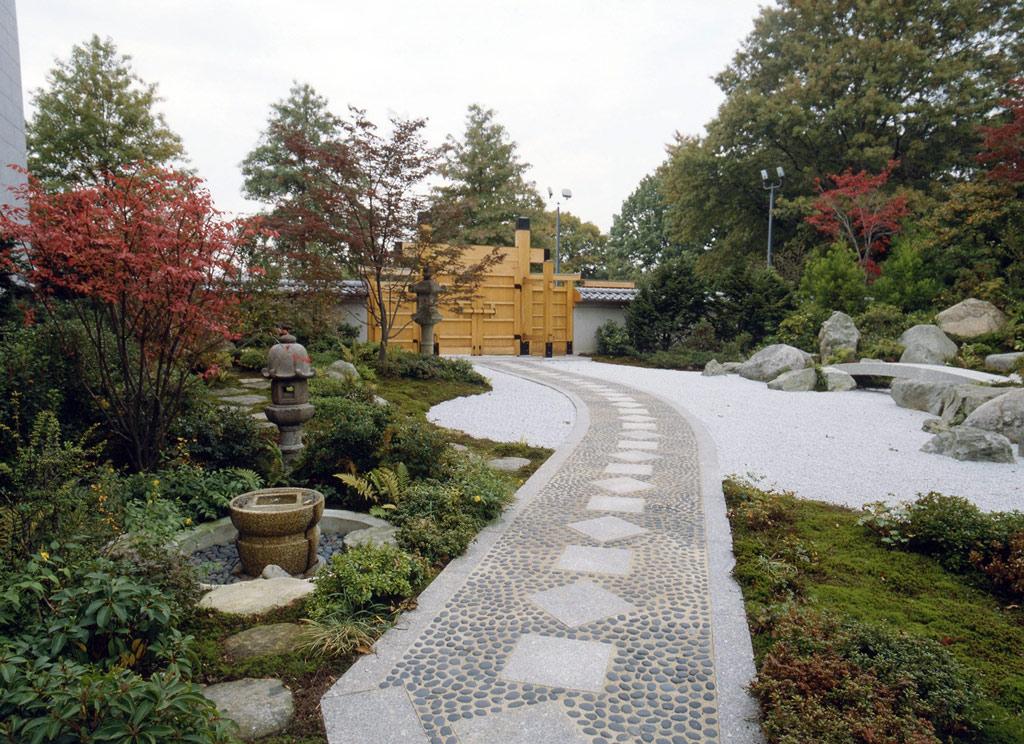 Tenshin en japanese garden for Gardens in japan