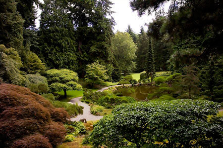 Bloedel Reserve, Washington
