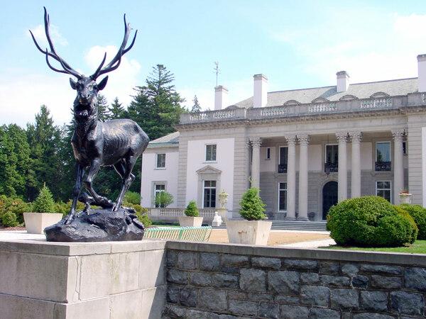 Stag Sculpture, Nemours Mansion & Gardens