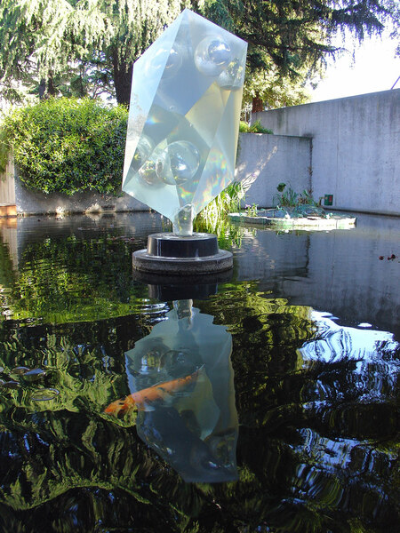 Pool, Oakland Museum of California and Gardens