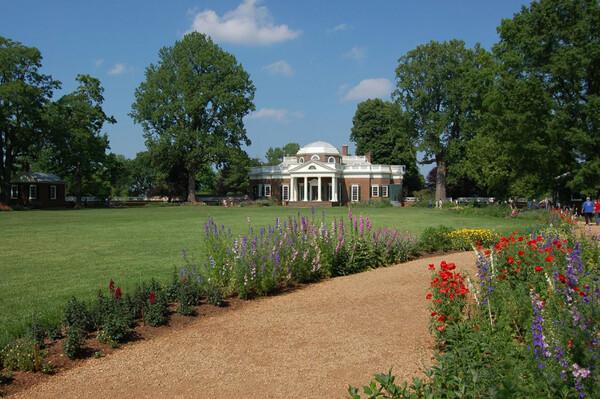 Monticello Garden, Virginia