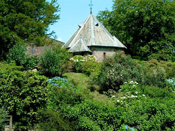 Muncaster Castle Garden rastrus