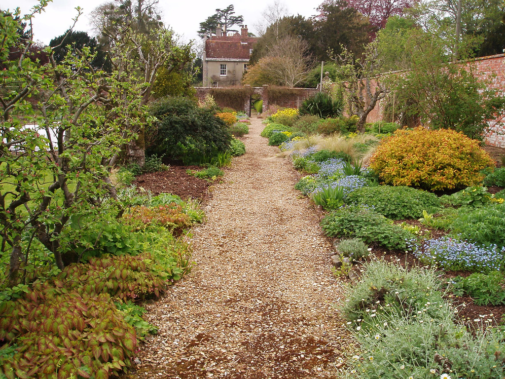 The Victorian Kitchen Garden Edmondsham House And Gardens