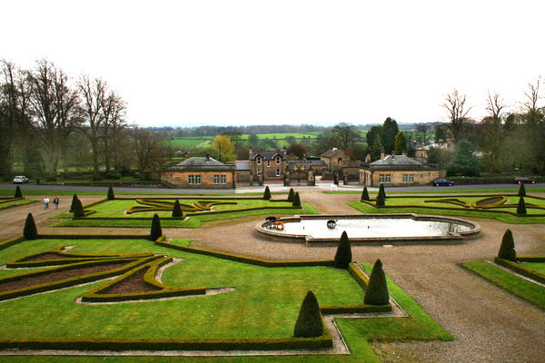Bowes Museum Garden Glen Bowman