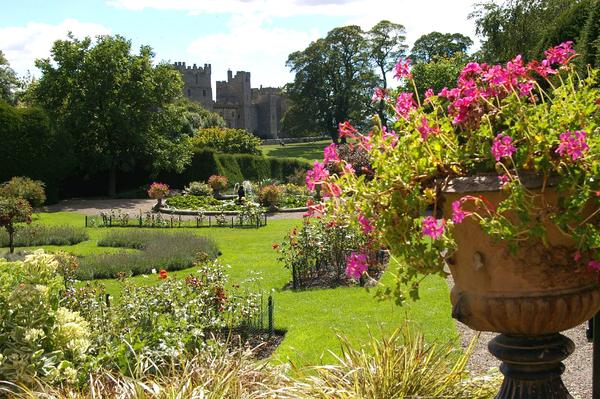 Raby Castle Gardens David Bramhall