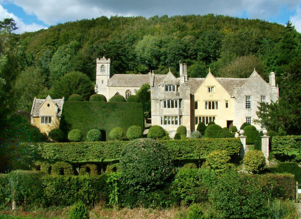 Owlpen Manor Garden