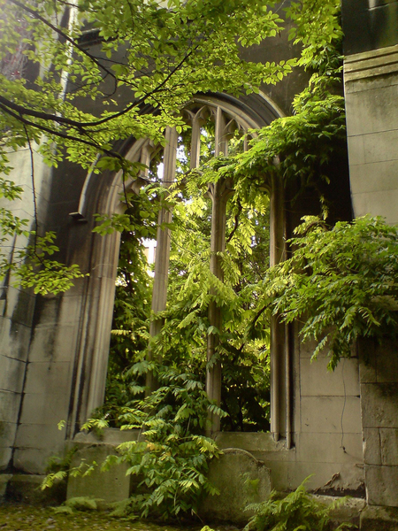 St Dunstan in the East Church Garden secretlondon123